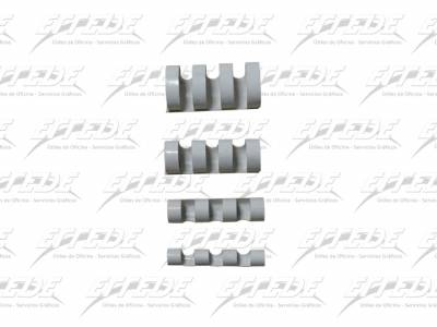 ANILLADO PLAST APRI P/A 12 A4 BCO