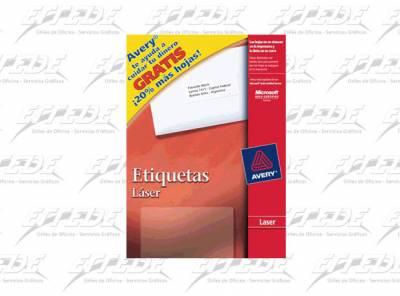 ETIQUETA AVERY CA 100P CORREO 25 X 67