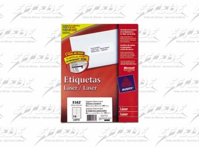 ETIQUETA AVERY CA 100P CORREO 34X102