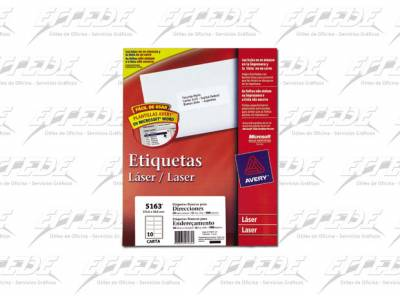 ETIQUETA AVERY CA 100P CORREO 51X102