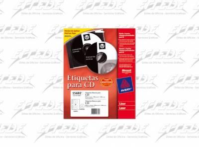 ETIQUETA AVERY  CA 10P CD/DVD LASER