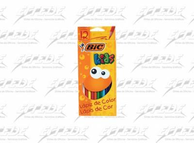 PINTURITAS BIC KIDS X 12 LARGO