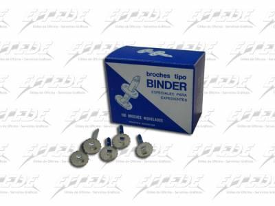 BROCHES BINDER Nº 642 (12MM) C.SUPERIOR