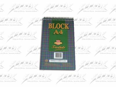 BLOCKS TRIUNFANTE C/ESP A4 CUA 80HJ