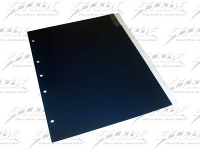SEPARADOR PLAST ALFA A4 C/OREJA 6 POS