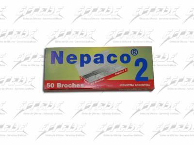 BROCHES NEPACO Nº  2 X 50