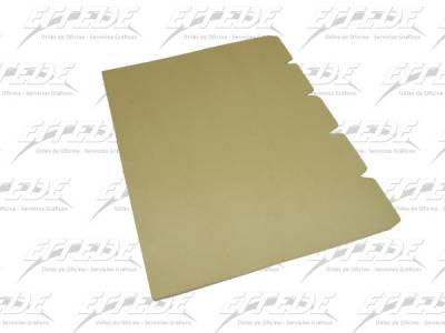 SEPARADOR CART MANILA OF 5 POS NEPACO