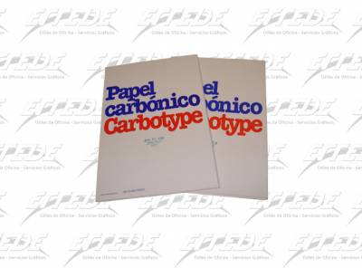 CARBONICO PAPEL CARBOTYPE  AZUL 223*100