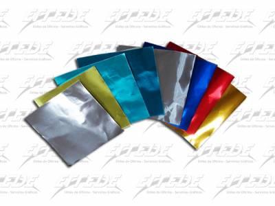 PAPEL GLASE TACO METAL 10X10 200 HJ
