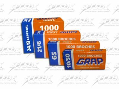 BROCHES  GRAP 24/6 X 1000