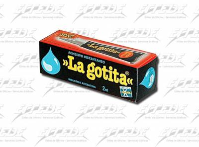 ADHESIVO LA GOTITA 2 ML.