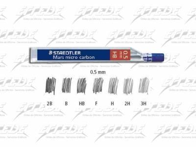 MINAS STAEDTLER 0.5  F TUBO X 12