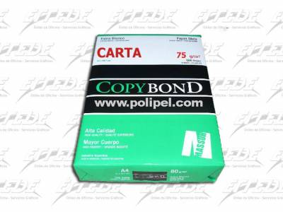 RESMA COPY BOND 75G  21,59 X 27,94